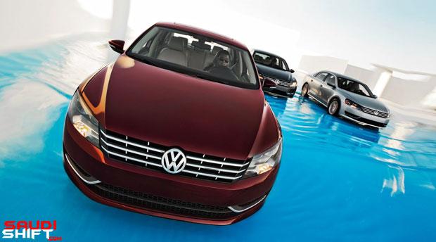 2012-Volkswagen-Passat-Group-Front