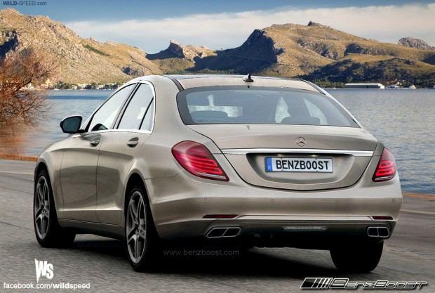 Mercedes Sclass_r_bronze