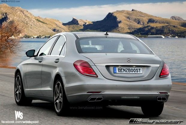 Mercedes Sclass_r_grey
