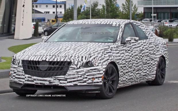 2014-Cadillac-CTS-spy-photo-front-three-quarter-1-1024x640