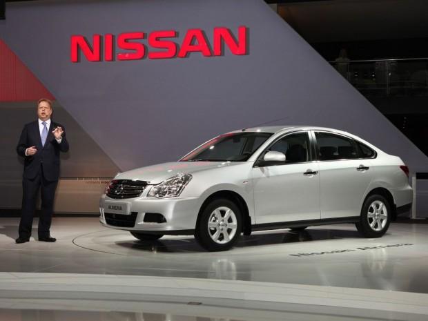 2012 Nissan Almera Moscow Auto