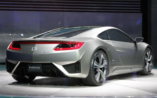 Acura-NSX-Concept-rear-three-quarter-view