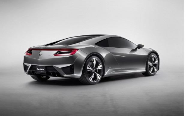 Acura-NSX-Concept-rear-three-quarters