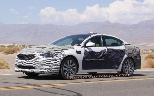 Kia-Cadenza-spy-photo-front-three-quarter-5-1024x640
