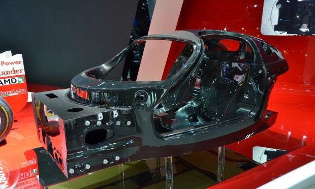 Paris 2012 Ferrari Chassis 006