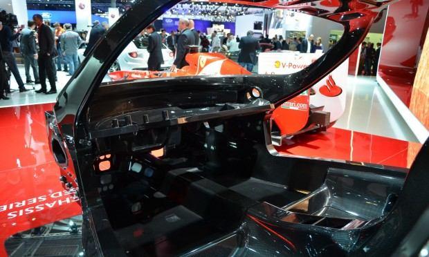 Paris 2012 Ferrari Chassis 007