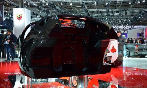Paris 2012 Ferrari Chassis 009