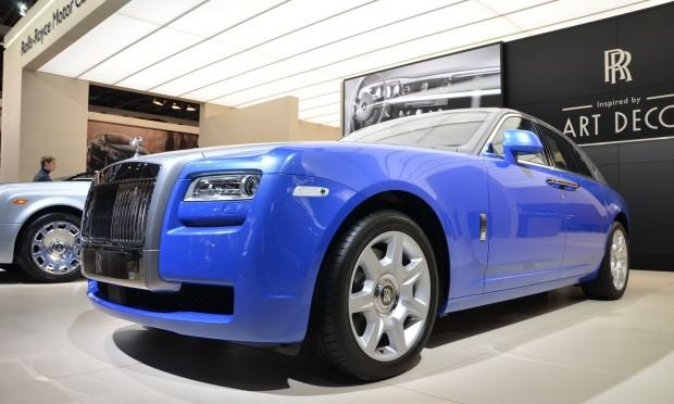 Paris 2012 Rolls Royce Ghost  Art Deco Edition 001