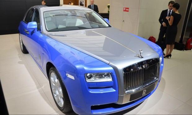 Paris 2012 Rolls Royce Ghost  Art Deco Edition 002
