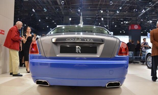 Paris 2012 Rolls Royce Ghost  Art Deco Edition 011