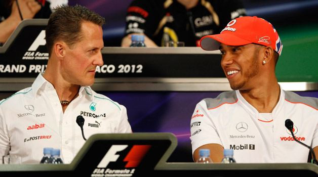 f1-drivers-schumacher-and-hamilton