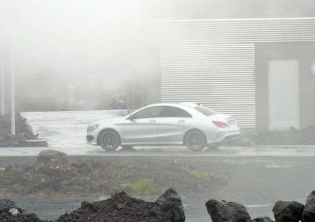Mercedes A-Klasse Stufenheck / Erlkönig