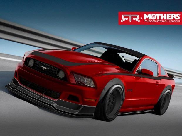 2013 Mustang GT, 5.0L V8, Six-Speed Manual Transmission - Built