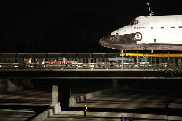 Space Shuttle Endeavour Makes 2-Day Trip Through LA Streets To Its Final Destination