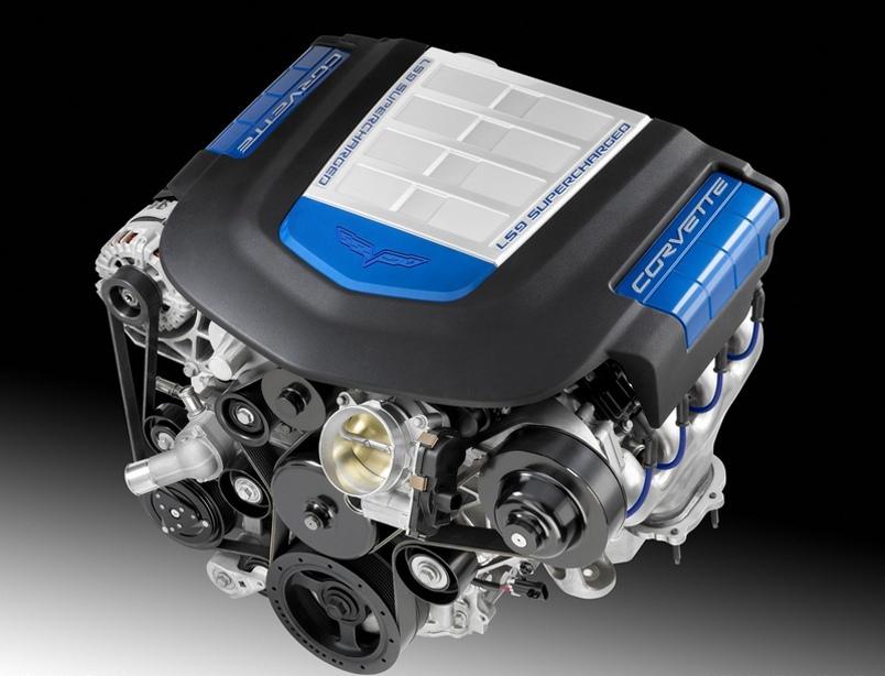 صورة لمحرك الكورفيت LS9