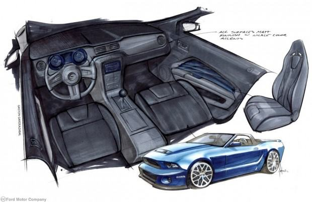 2013 Mustang Convertible, 3.7L V6, Six-Speed Manual Transmission