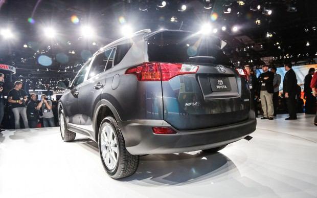 2013-Toyota-RAV-4-rear-three-quarters-2