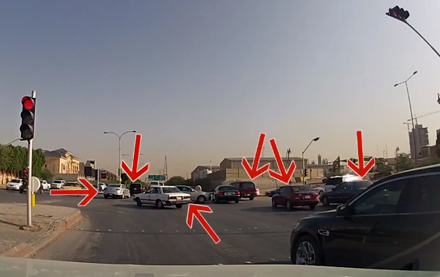 Driving-in-saudi-streets