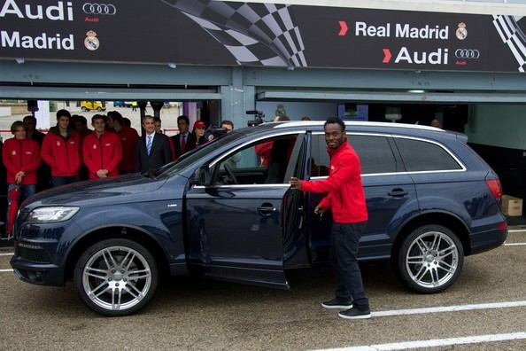 Real+Madrid+Players+Receive+New+Audi+Cars+ubsPIfWBpWOl