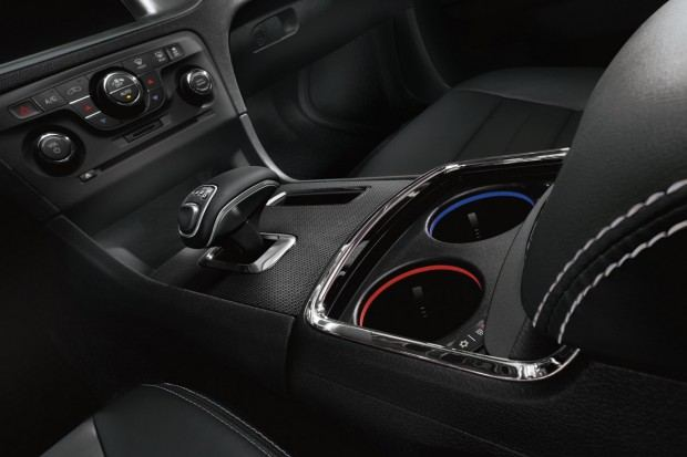 2013 Dodge Charger with eight-speed automatic transmission