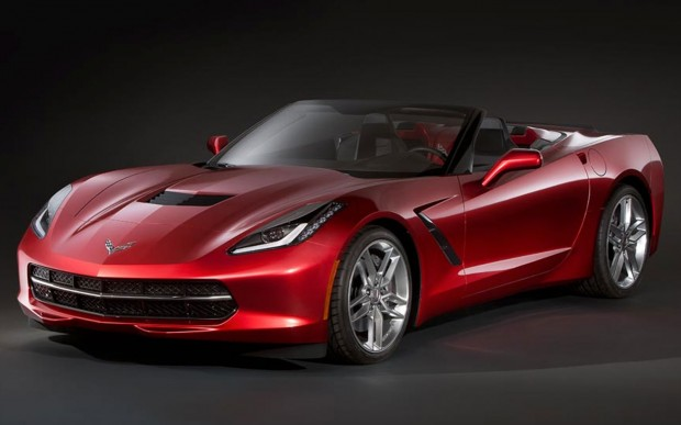 2014-Chevrolet-Corvette-Stingray-convertible-drivers-side-front-three-quarters