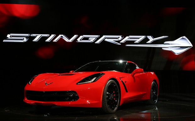 2014-chevrolet-corvette-live-reveal-front-three-quarter