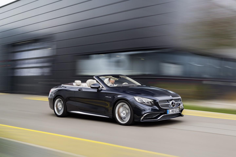 Mercedes-AMG S 65 Cabrio, Exterieur: Anthrazithblau exterior: anthracite blue