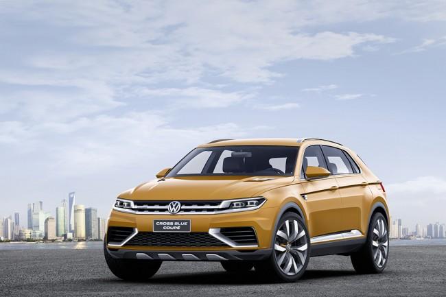 Volkswagen SUV-Studie CrossBlue Coup