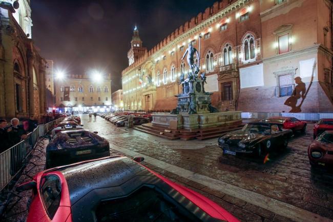 Bologna parc fermè notte