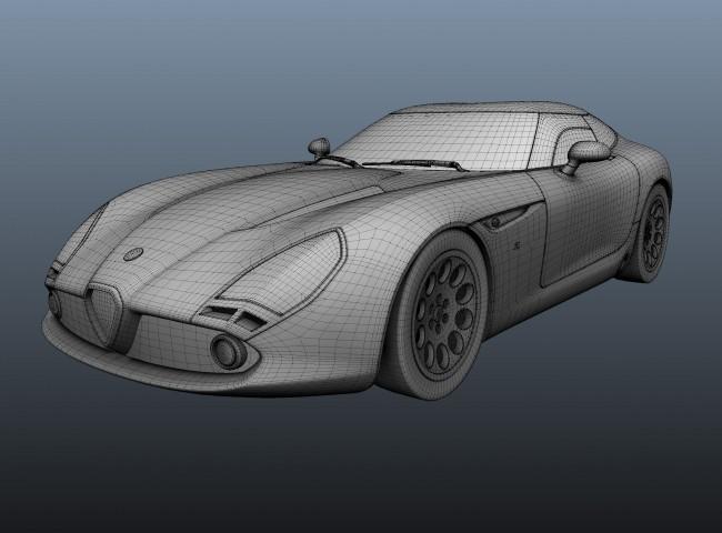 _bmUploads_2013-05-15_2592_Car_Modeling_Process_05_Smoothmesh