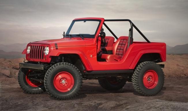 Jeep® Shortcut Concept