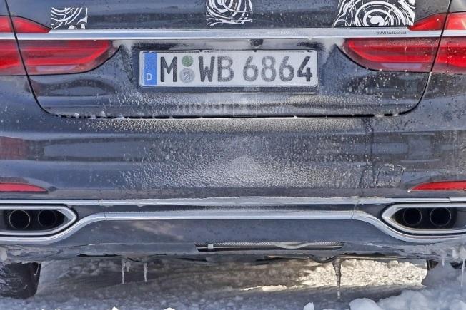 BMW M7 SPY 8