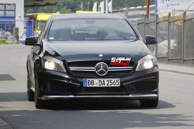 Mercedes A45 AMG Black Series 001