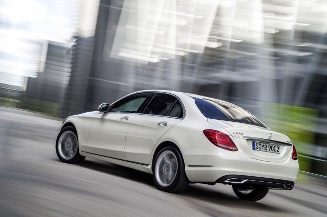 Mercedes-Benz C 250 BlueTEC, Avantgarde, Diamantweiss metallic,