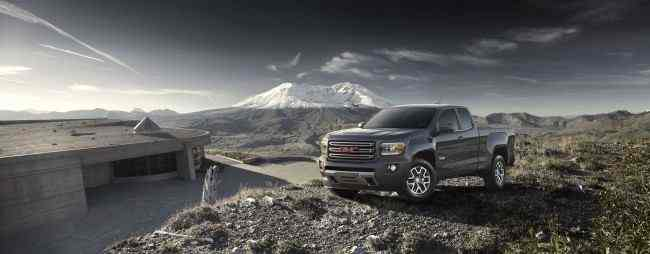 2015 GMC Canyon All Terrain Extended Cab Front Three-Quarter