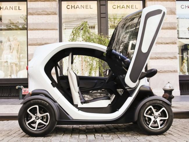 RENAULT TWIZY A NEW YORK