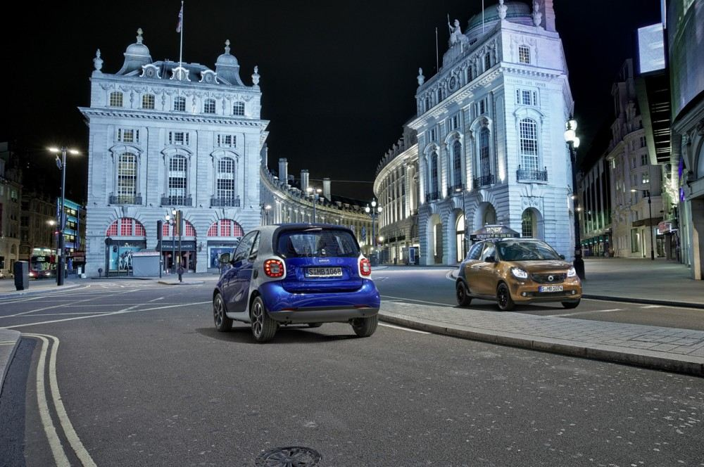 Der neue smart fortwo und forfour, 2014