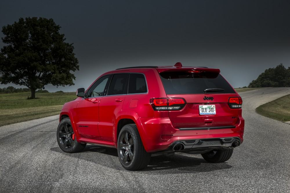 2015 Jeep Grand Cherokee SRT with Red Vapor Package