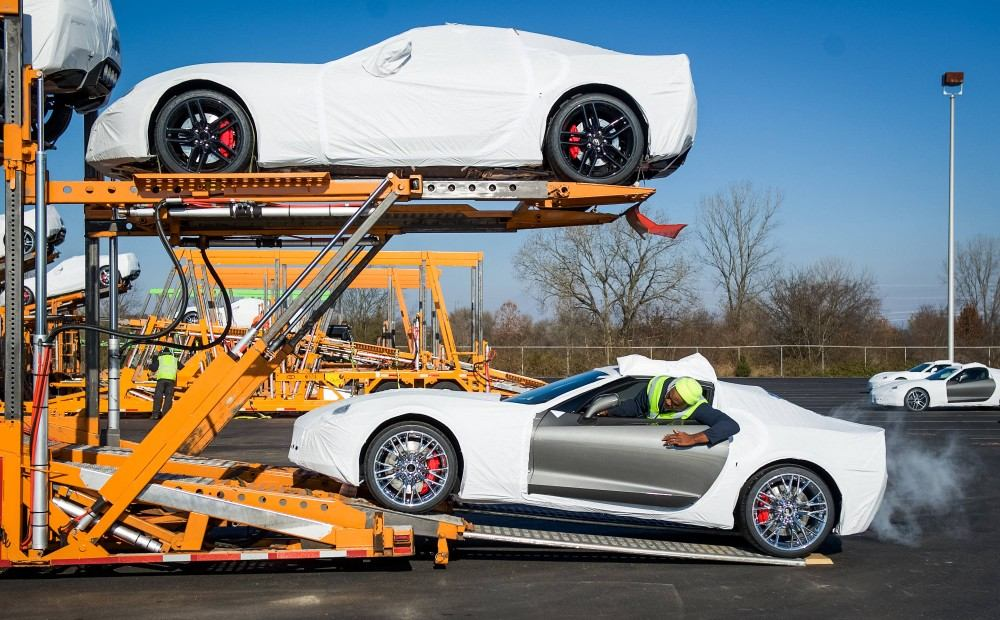 2015 Corvette Z06 Ships To Dealers