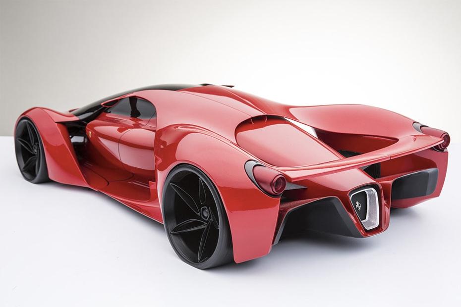 Ferrari-F80-Supercar-Concept-Rear-Side