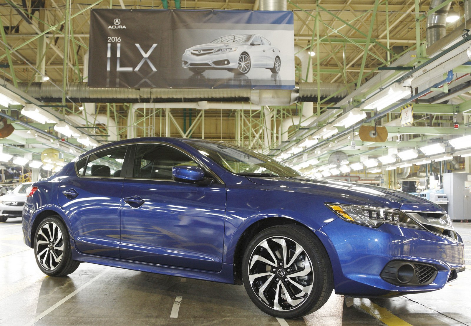 2016 Acura ILX begins production.