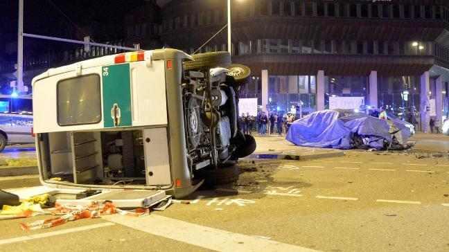 بي ام دبليو الفئة السابعة 2016 تتعرّض لحادث اثناء اختباراتها