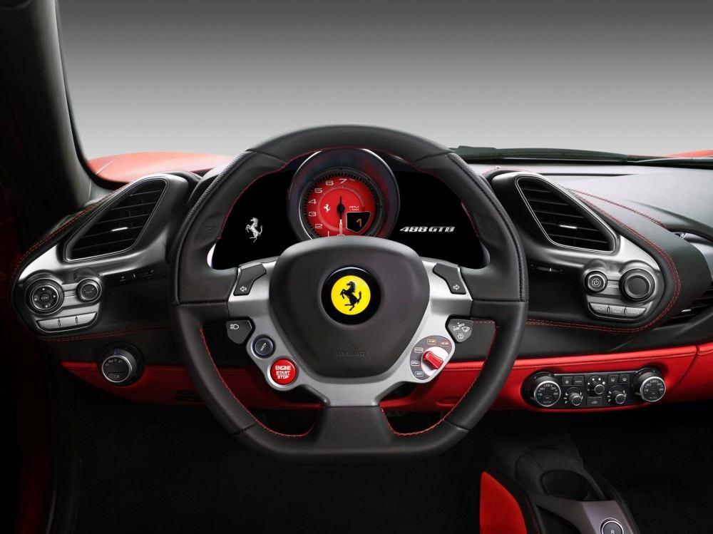 Ferrari-488-GTB-steering