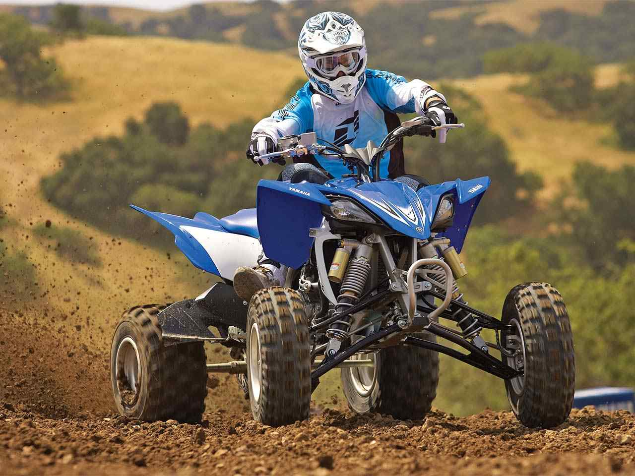 2011.yamaha.yfz450r.blue_.front_.racing.on-track