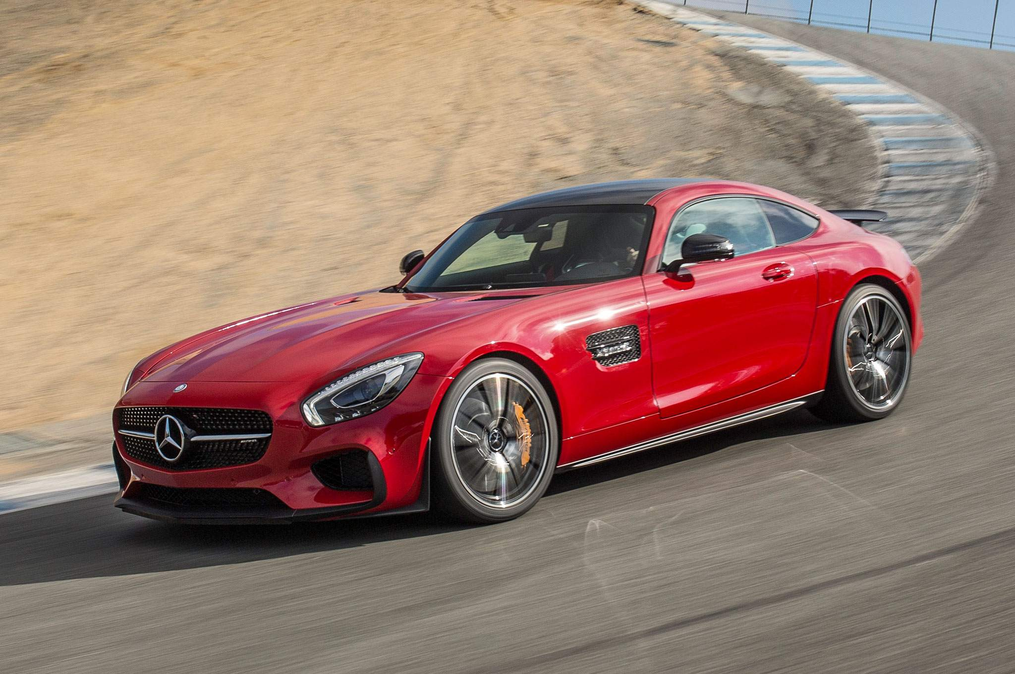 2016-mercedes-amg-gt-s-edition-1-front-driver-profile-in-motion