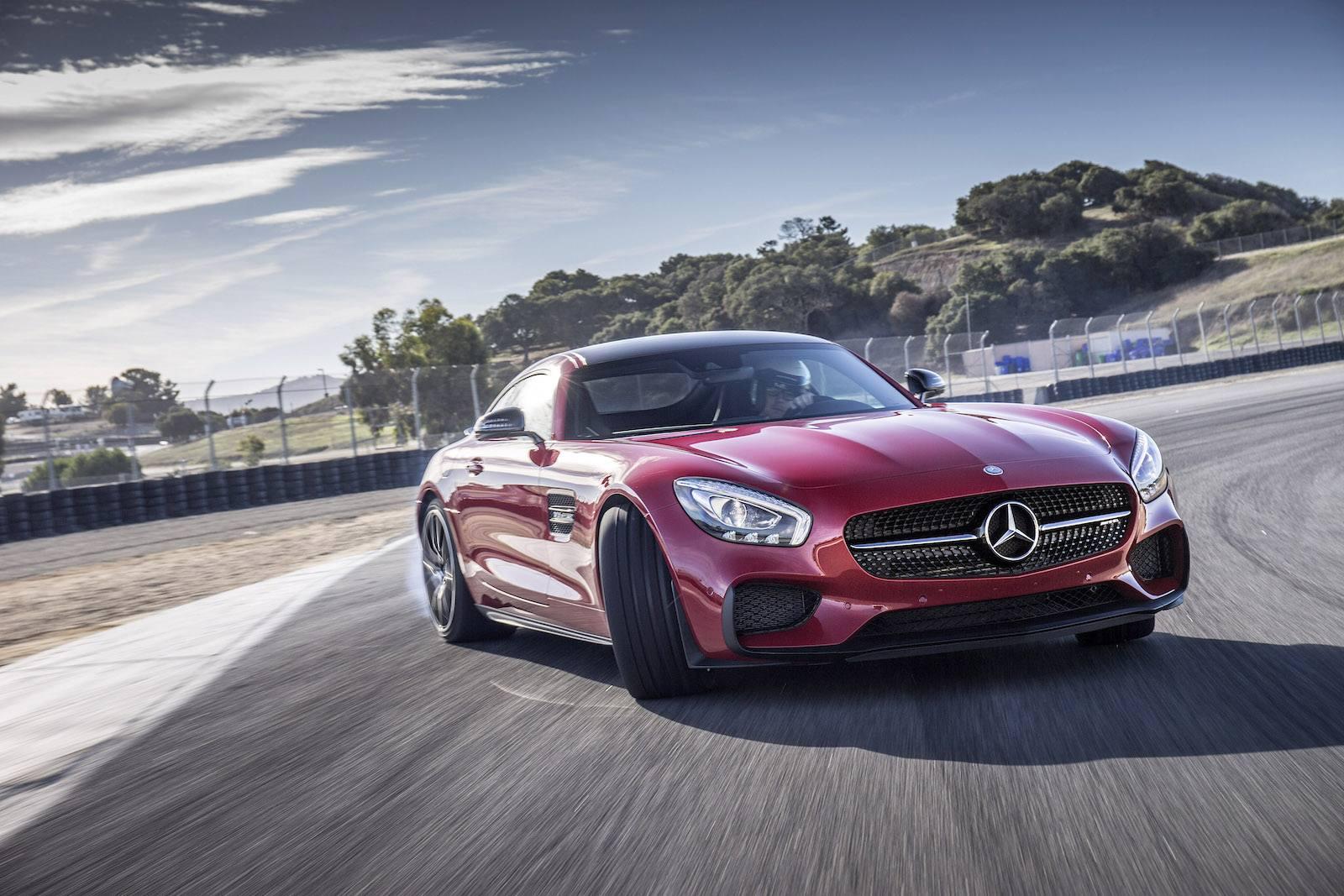 Pressefahrveranstaltung Mercedes-AMG GT S, Laguna Seca, Nov 2014, Mercedes_AMG GT S, Edition1_feueropal