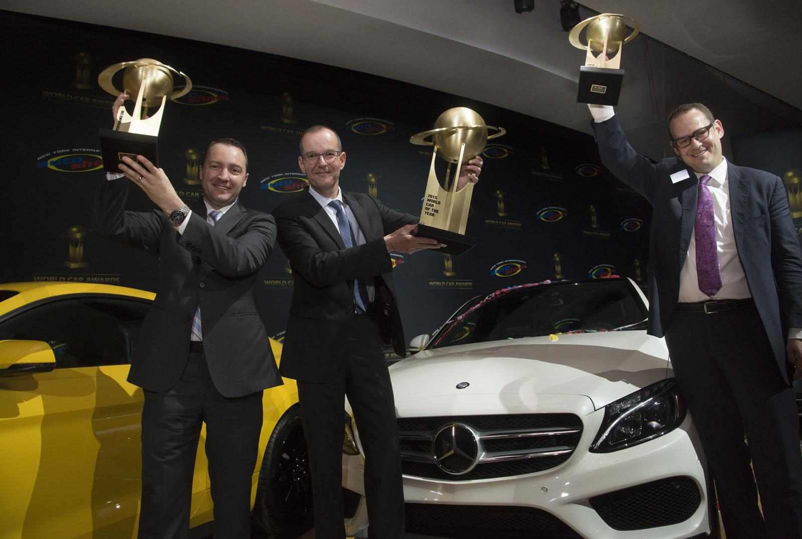 مرسيدس تحوز على معظم جوائز سيارة العام العالمية
