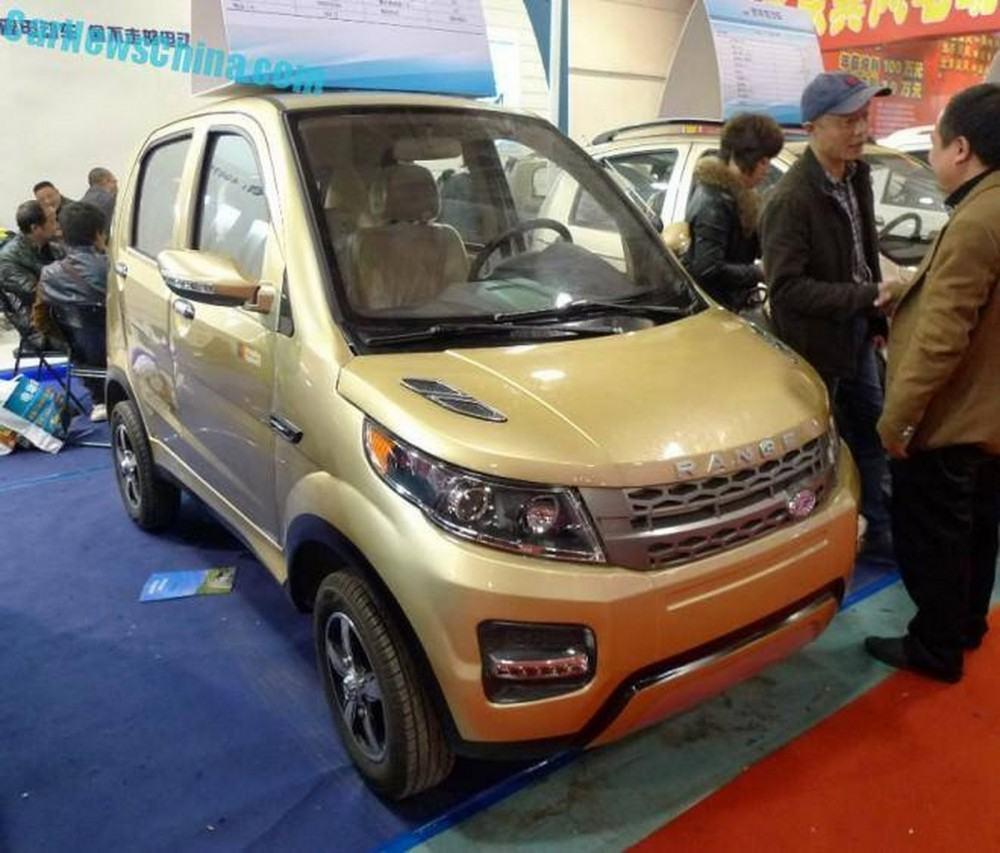 Range Rover Evoque China 1