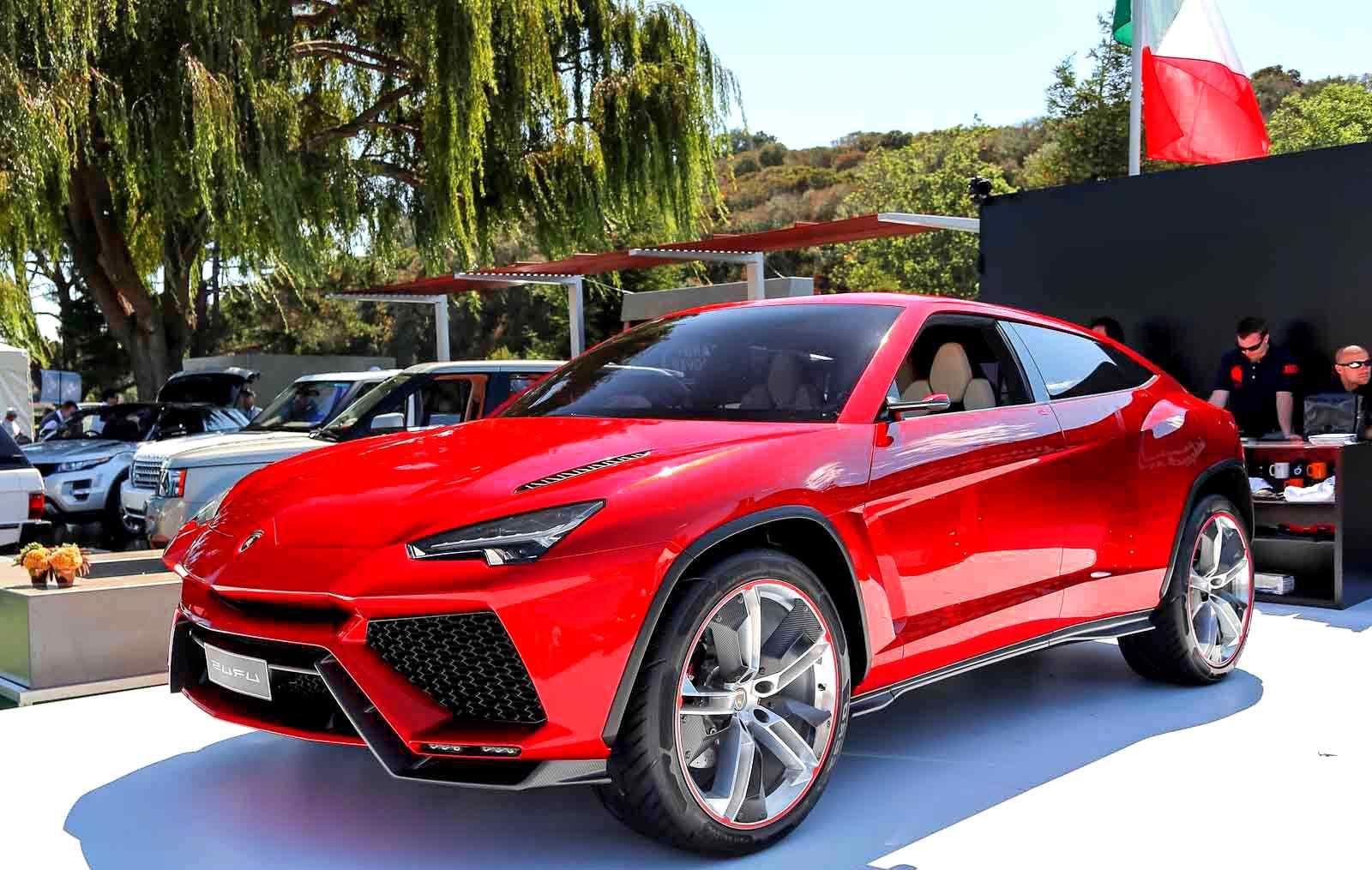New Lamborghini Urus SUV price