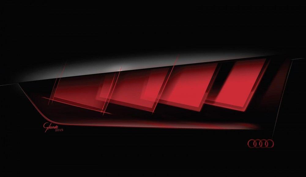 اودي تشوقنا لسيارة اختبارية بتقنية اضاءة OLED جديدة في فرانكفورت